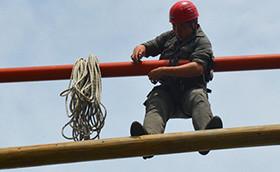 众基拓展培训师8月培训班正在进行中