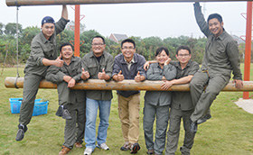 众基11月拓展培训师培训班已于23日开课